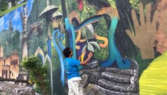 Muralista Héctor Domínguez contaba con orden de protección