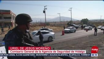 FOTO: Hidalgo implementa operativo de seguridad por Semana Santa, 13 de abril 2019