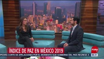 FOTO: Historias que se cuentan: Índice de Paz en México, 13 de abril 2019