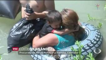FOTO: Hondureños arriesgan su vida en su intento por llegar a Estados Unidos, 18 ABRIL 2019