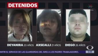 Identifican a asaltantes de transporte público en Edomex