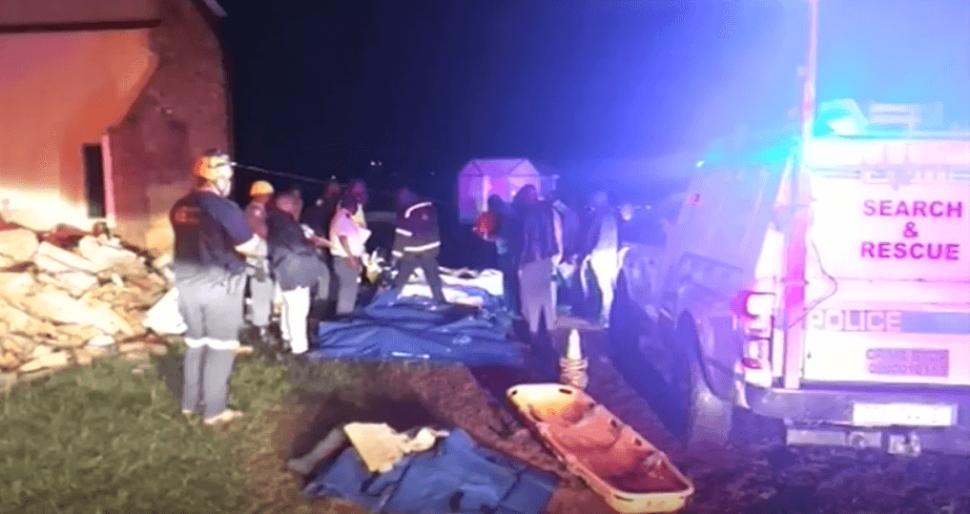 Foto: Iglesia se derrumba en Sudáfrica, 19 de abril de 2019, Sudáfrica