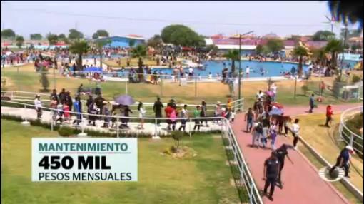 Foto: Inauguran Lago Artificial Chimalhuacán 22 de Abril 2019