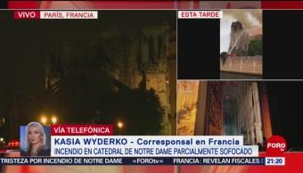 Foto: Incendio Catedral Notre Dame Parecía Película Horror 15 de Abril 2019
