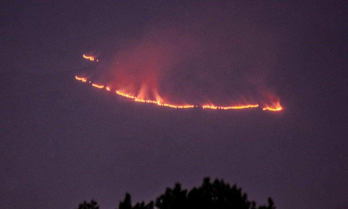 Incendio en parque 'La Malinche', provocado por fogata 'mal apagada'