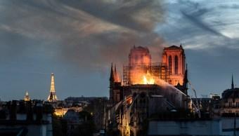 Foto: Zonas cercanas a la catedral de Notre Dame presentan elevados niveles de plomo tras el incendio que dañó el famoso monumento, 27 abril 2019
