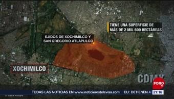 Foto: Incendios Forestales Xochimilco Provocados Invasores 9 de Abril 2019