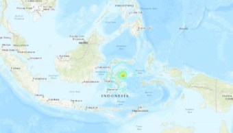 Sismo de magnitud 7 sacude isla de Sulawesi, Indonesia