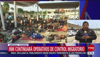 Foto: INM anuncia que seguirán operativos de control migratorio