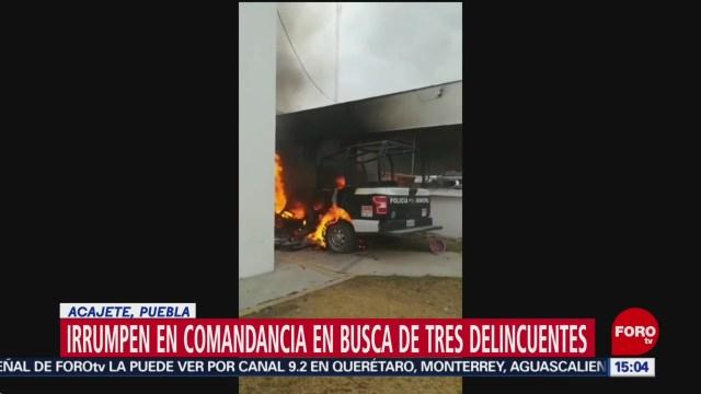 Foto: Intentan linchar a tres presuntos delincuentes en Puebla