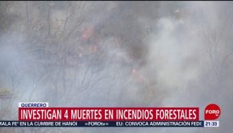 Foto: Muerte Comuneros Incendio Forestal Guerrero 25 de Abril 2019