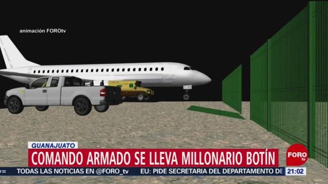 Foto: Robo Millonario Aeropuerto Guanajuato Video 4 de Abril 2019