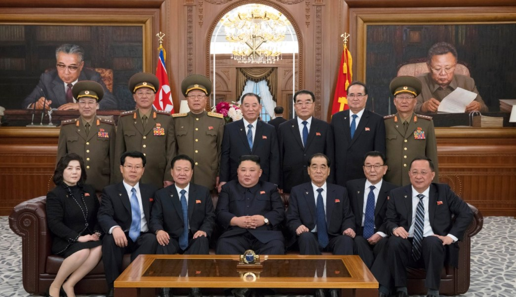 Foto: El líder norcoreano Kim Jong Un asiste a la 14 Asamblea Popular Suprema de la República Popular Democrática de Corea en Pyongyang, abril 13 de 2019 (Reuters)