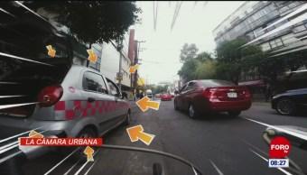 #LaCámaraUrbana en Expreso: Automóvil estacionado en doble fila