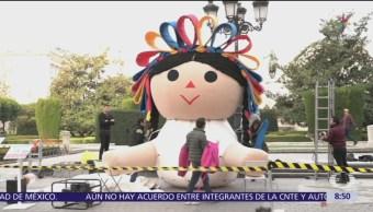 Lele, muñeca artesanal de Amealco, hace gira internacional