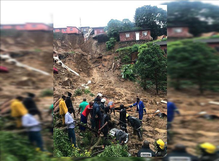 Resultado de imagen para 70 los muertos por las fuertes lluvias en el este de Sudáfrica