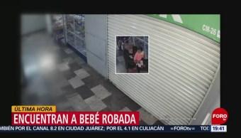 FOTO: Localizan a bebé robada afuera de Hospital General, 18 ABRIL 2019