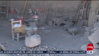 FOTO: Los artesanos del Popocatépetl, 13 de abril 2019