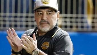 Maradona es sancionado por declaraciones a favor de Maduro y contra Trump