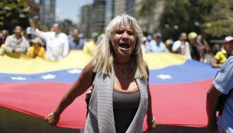 Foto: Gobierno de Venezuela y oposición 'miden fuerzas' con marchas en Caracas, 6 abril 2019