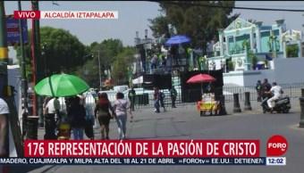 FOTO: Más de ocho mil policías resguardarán representación en Iztapalapa, 18 ABRIL 2019