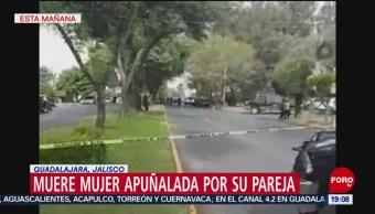 Foto: Matan Asesinan Mujer Casa Jalisco Guadalajara Apuñalan 25 de Abril 2019