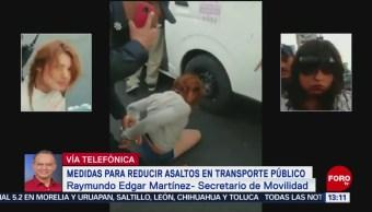 Foto: Medidas para reducir asaltos en transporte público en Edomex