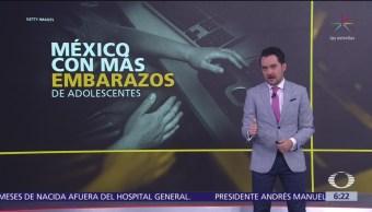 México, país de la OCDE con más embarazos adolescentes