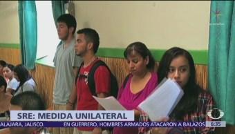 México señala que respeta asuntos domésticos de Estados Unidos