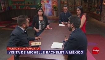 Foto: Michelle Bachelet Derecho Verdad ONU México 8 de Abril 2019