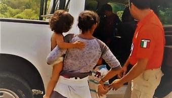 Migrante hondureña narra cómo perdió a su hijo durante la emboscada en Pijijiapan