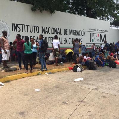 Procuradora llama 'caníbales' a migrantes africanos en Chiapas
