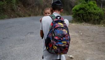 'Nos vamos': Así inició la nueva caravana de hondureños que partieron de San Pedro Sula a EEUU
