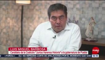 FOTO: Morena cumplió resolución de Tribunal: Barbosa, 13 de abril 2019
