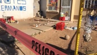 Foto: Multihomicidio durante fiesta en Chihuahua, 29 de abril 2019. Twitter @capsulanoticias