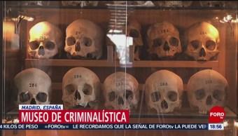 Foto: Museo de antropología médica forense, en Madrid