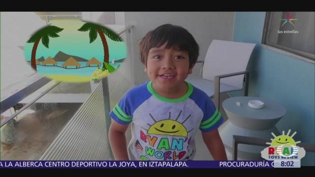 Niños youtubers ganan hasta 290 mil pesos mensuales a través de Internet