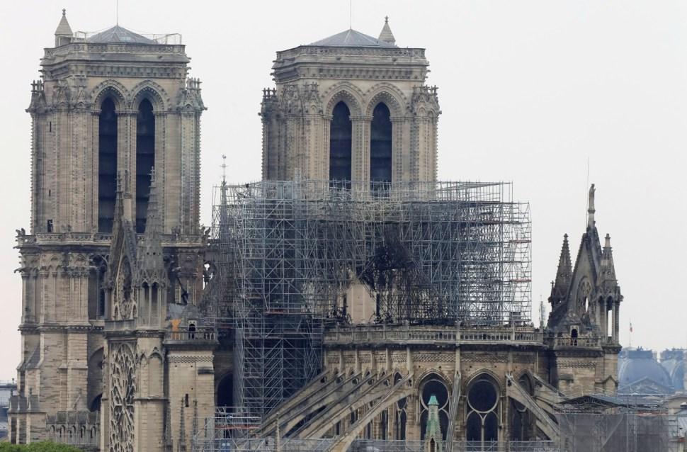 Incendio en Notre Dame, totalmente apagado: Bomberos de París