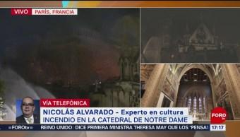 Foto: Notre Dame no buscaba impactar, sino inspirar recogimiento