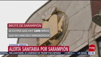 FOTO: Nueva York enfrenta alerta sanitaria por brote de sarampión