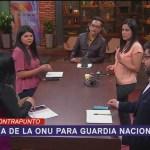 Foto: ONU Asesorará México Guardia Nacional 10 de Abril 2019