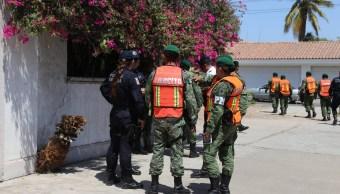 Foto: Operativo de seguridad en Sinaloa, 4 de abril 2019. Twitter @sspsinaloa1