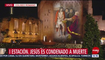 FOTO: Papa encabeza celebración del Viernes Santo, 19 ABRIL 2019