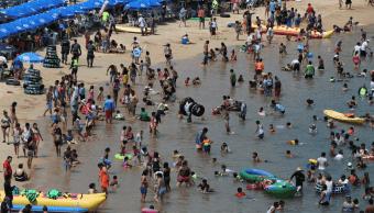 Foto: Playa de Acapulco, Guerrero, 13 de mayo de 2016. México