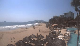 Foto: Playa en Ixtapa Zihuatanejo, abril de 2019, México