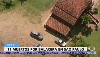 Policía de Brasil abate a 11 asaltantes de bancos