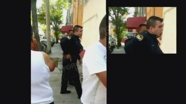 Foto: Suspenden a policía capitalino que disparó al aire sin aparente razón en la colonia Peralvillo, 21 abril 2019