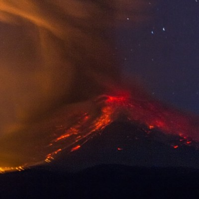 Adultos mayores que viven a las faldas del Popocatépetl