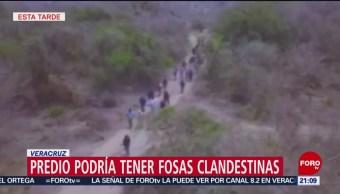 Foto: Predio Fosas Clandestinas Veracruz 17 de Abril 2019