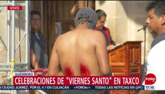 FOTO: Procesiones del Viernes Santo en Taxco, Guerrero, 19 ABRIL 2019